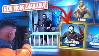 *NEW GAMEMODE* MICHAEL MYERS Custom Gamemode in Fortnite Battle Royal! (DEFEND THE HOUSE!)