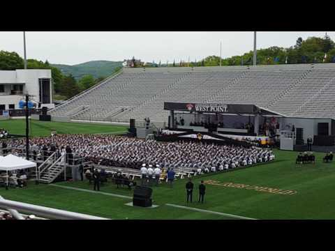 Vice PRESIDENT Joe Biden speaks at the West POINT graduation