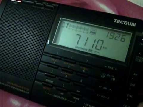 Myanmar Thazin Radio 7110kHz