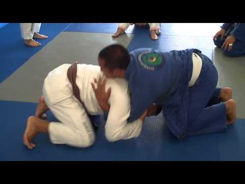 Defenses from the Turtle in North-South position - Charles Gracie Jiu-Jitsu