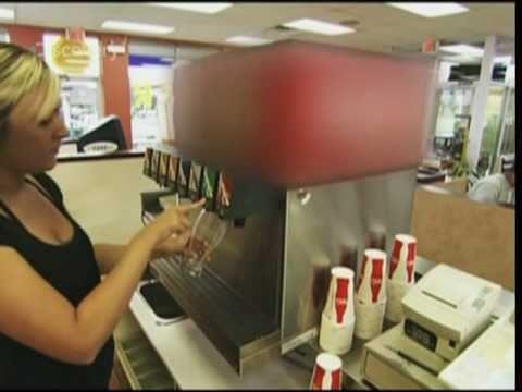 Soda Fountain Drink Dispenser
