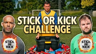PENALTIES FOR PRIZES! DORITOS STICK OR KICK CHALLENGE! #AD