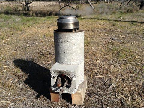 Rocket Stove Breakfast, Dimboola, Australia