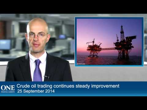 Crude oil trading continues steady improvement