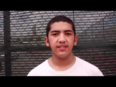 Exercise & eating habits of student at Summer Tennis Program at Socorro High School, El Paso TX.