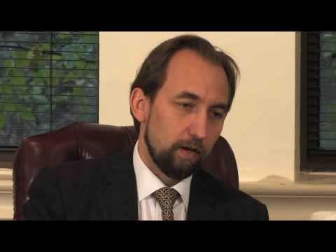 Newsmaker: Zeid Raad Al-Hussein