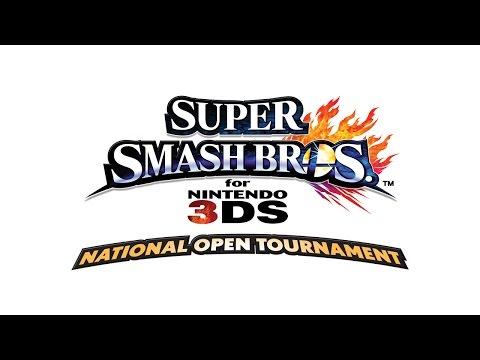 Nintendo's Super Smash Bros. for Nintendo 3DS National Open Tournament