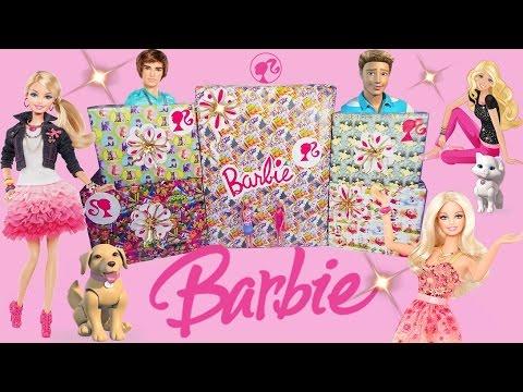 МЕГА-посылка с игрушками БАРБИ из Америки: куклы, игровые наборы и трехэтажный дом! Barbie Dolls