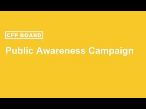 Introducing New Advertisements for CFP Board's Public Awareness Campaign