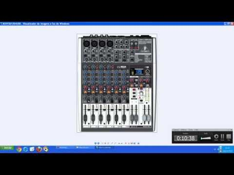 Video Aula Mesa de Som Behringer XENYX X1204USB (Português)