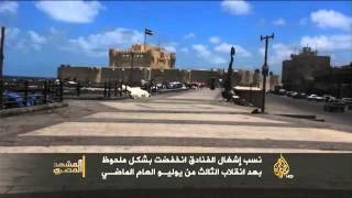 تأثير تدهور السياحة على العاملين بالقطاع السياحي بمصر