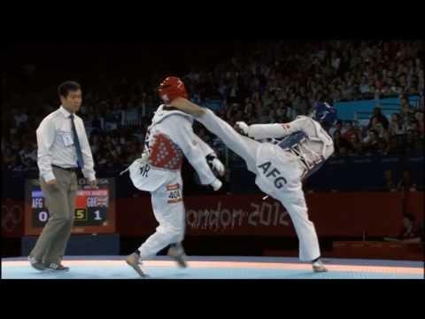 Rohullah Nikpai Taekwondo Best Kicks video