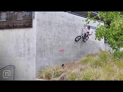 Tanner Easterla Summer BMX Riding on Crooked World