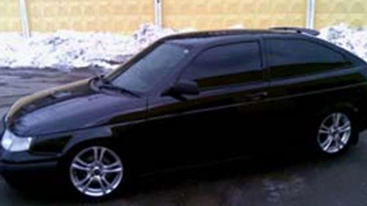 фото ваз 21123 купе черная