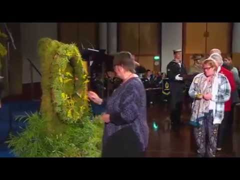 Australia holds memorial for MH17 victims