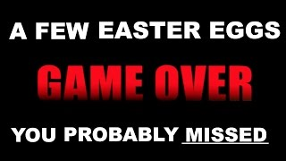 A Few Easter Eggs You Probably Missed | GAME OVER