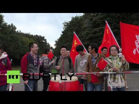 Germany: Chinese students drum up support for Li Keqiang