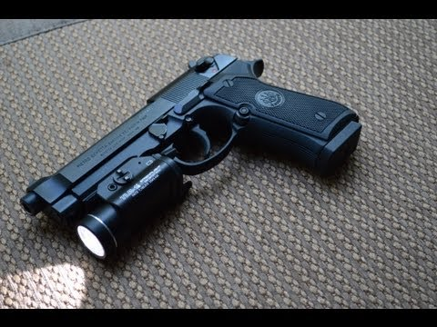 Beretta 92A1 Update 3/1/13 - Streamlight TLR1s.
