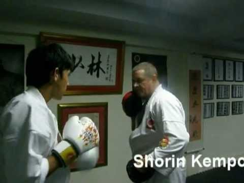 shorin kempo thailand pattaya fight centre  (focus mitt techniques) Image 1