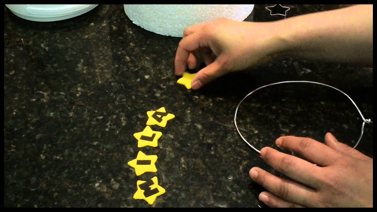 How to make a simple wire cake topper youtube for Easy method of making cake