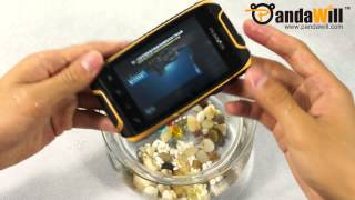 Android Smart Phone Waterproof, Drop & Scratch Test - H1 IP67 - PandaWill.com