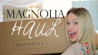 HOME DECOR HAUL from MAGNOLIA MARKET!