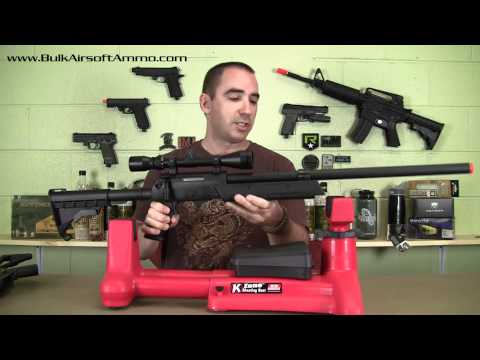 MTM K-Zone Shooting Rest Review For Airsoft Application