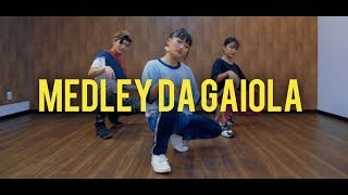 Medley da Gaiola - Dennis DJ & MC Kevin o Chris | Rikimaru Choreography ft. Rico e Yukino