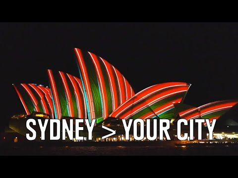 Don't You Wish Your City Was Lit Like Sydney?
