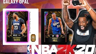NBA 2K20 MYTEAM-ALL 99 OPALS! PINK DIAMONDS! COLLECTION REWARDS!!