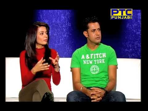 GIPPY GREWAL & SURVEEN CHAWLA ON PTC PUNJABI PART 3 OF 5