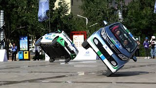 Electric car rally underway in western China