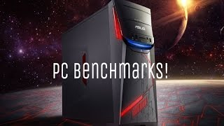My Asus G11CD PC Benchmarks