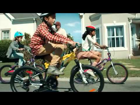 Bmx Bikes For Kids >> Canadian Tire Bicycle and Bike Gang Commercial Advert 2013 for Kids Men & Women who Need a New ...