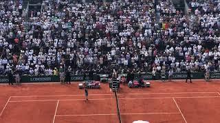 2018 Roland Garros Halep winning moment