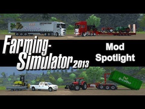 Farming Simulator 2013 Mod Spotlight - S2E2 - Unimog. Pig Mod. Seeders