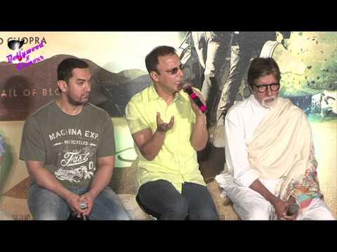 Aamir Khan, Amitabh Bachchan atTrailer Launch of  V Vinod Chopra's Hollywood Venture 'Broken Horses'