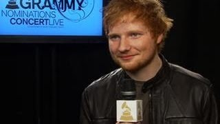 GRAMMY Awards Nomination Show Interview - Ed Sheeran