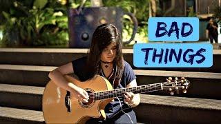 Download Lagu (Machine Gun Kelly, Camila Cabello) Bad Things - Josephine Alexandra / Fingerstyle Guitar Cover Gratis STAFABAND