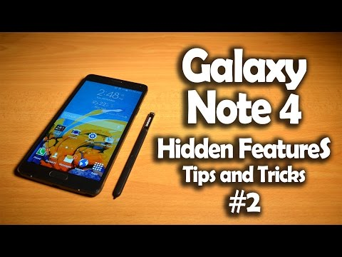 Samsung Galaxy Note 4 Hidden Software Features. Tips & Tricks #2