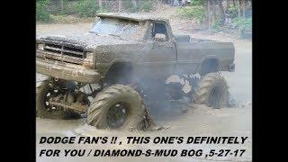 """2017 DIAMOND-S-MUD BOG /  """" DEETER'S  DODGE DIGS """""""