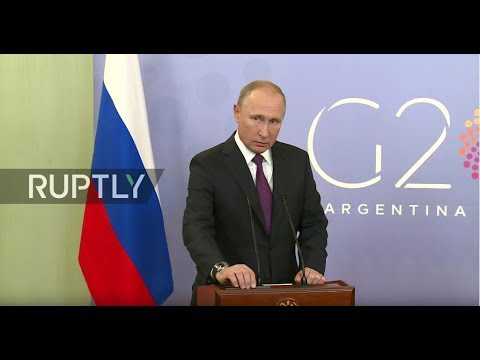 LIVE: Putin holds press conference following G20 summit