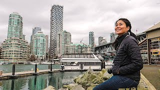 First Impressions of VANCOUVER + FIRST 48 HOURS | Vancouver Travel vlog