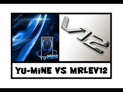 Yu-mine VS MrLEV12 en Dual Face Commentary (le vrai visage de Yu-mine)