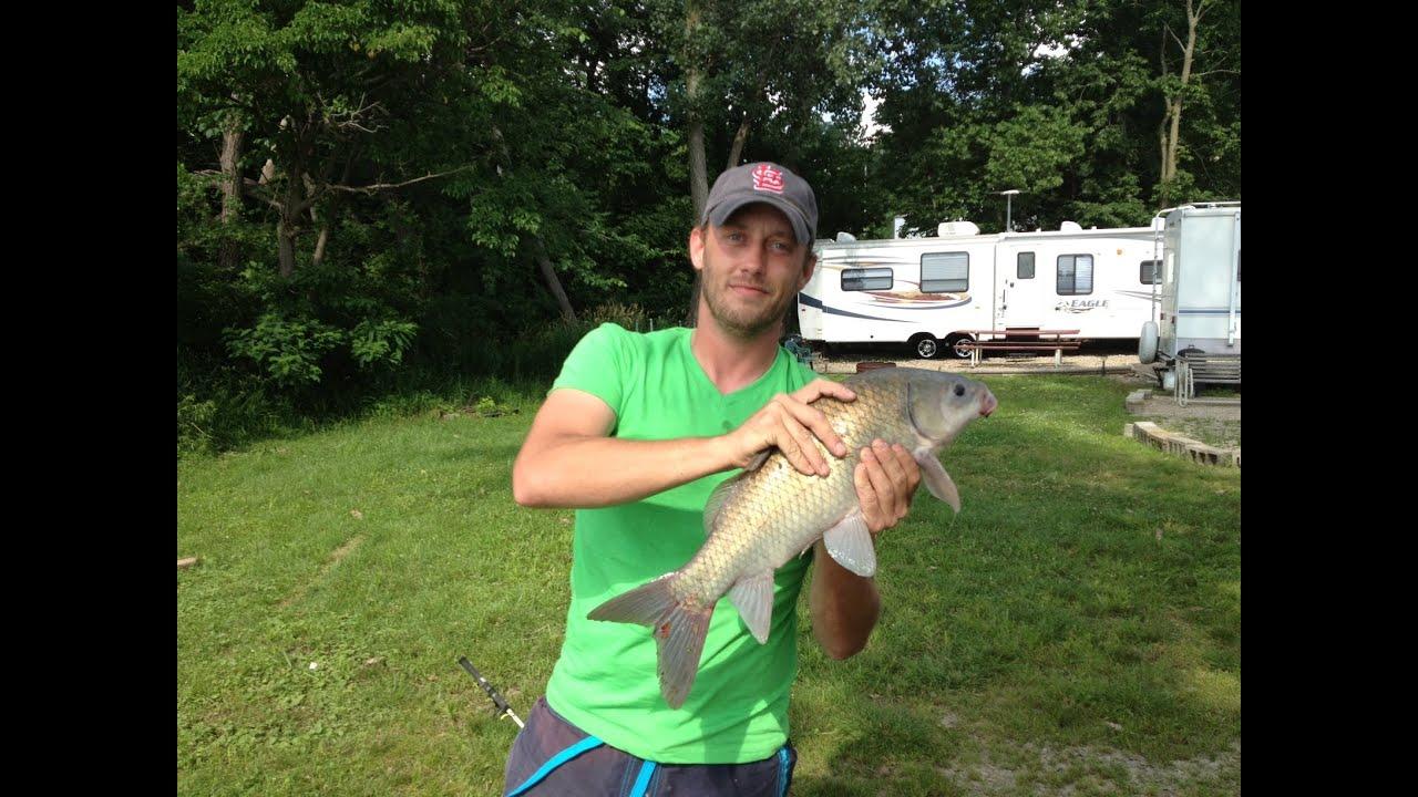 Illinois Catfish and Carp Fishing