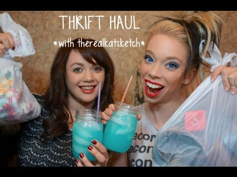 THRIFT HAUL & OUTTAKES WITH KAT!