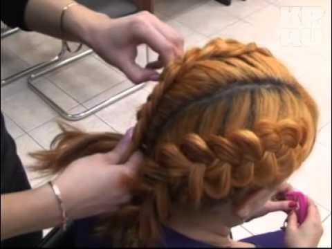 Плетём косы на выворот