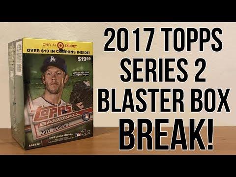 Topps Baseball 2017 - Series 2 - Blaster Box Break!