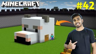 FINALLY I MADE HOUSE FOR MY POLAR BEAR | MINECRAFT GAMEPLAY #42