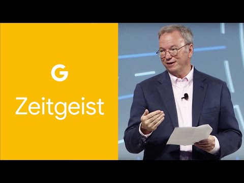 Eric Schmidt, Chairman - The Interconnected, Improving World